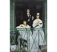 Edouard Manet - The Balcony 1868 - 1869 Woman Portrait Fashion  Photographic Print