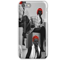 the girls of the red hair group  iPhone Case/Skin
