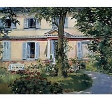 Edouard Manet - The House at Rueil 1882 Photographic Print