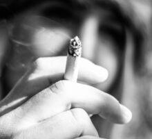 The Smoking Girl Sticker