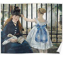 Edouard Manet - The Railway 1873 Poster
