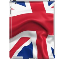 KRW Waving British Flag iPad Case/Skin