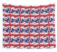 KRW Waving British Flag Wall Tapestry