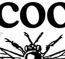 Always Bee Cool Beekeeper Quote Design Sticker