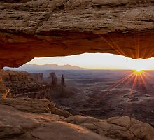 Mesa Arch Sunrise - Canyonlands National Park - Moab Utah by Brian Harig
