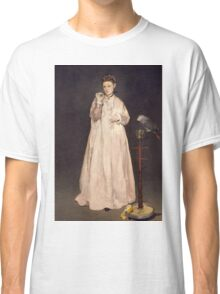 Edouard Manet - Young Lady in 1866 1866 Classic T-Shirt