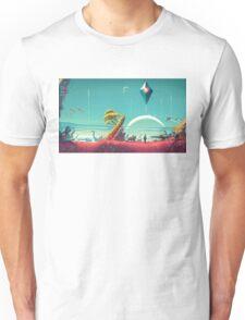 No Man's Sky Landscape Design Unisex T-Shirt