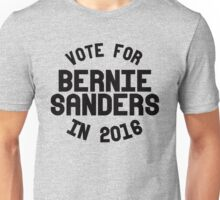 Vote for Bernie Sanders in 2016 Unisex T-Shirt
