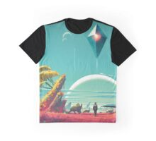 No Man's Sky Landscape Design Graphic T-Shirt