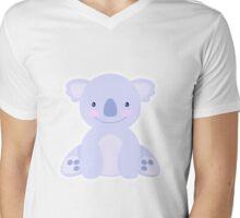 The cutiest purple koala ever Mens V-Neck T-Shirt