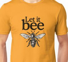 Let It Bee Beekeeper Quote Design Unisex T-Shirt