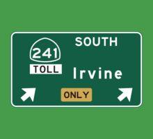 Irvine, CA Road Sign, USA Baby Tee