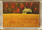 """""""Mountain Autumn"""" ... with a canvas and framed presentation, for prints by © Bob Hall"""
