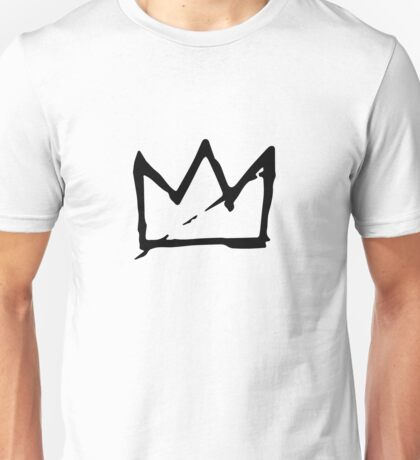 Basquiat Crown Unisex T-Shirt