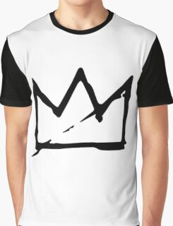 Basquiat Crown Graphic T-Shirt