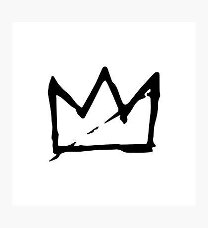Basquiat Crown Photographic Print
