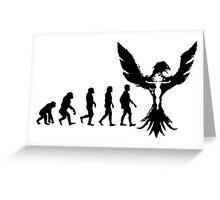Evolution of X-Man - Phoenix Greeting Card