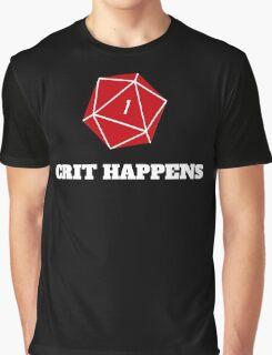 Crit Happens Graphic T-Shirt