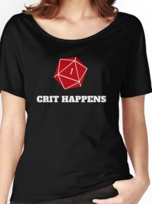 Crit Happens Women's Relaxed Fit T-Shirt