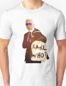 Karl Lagerfeld- Karl who T-Shirt
