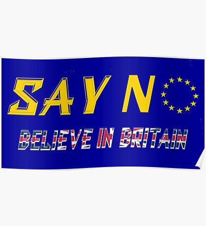 Believe In Britain Poster