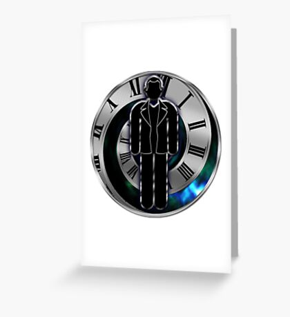 Doctor Who - 9th Doctor - Christopher Eccleston Greeting Card