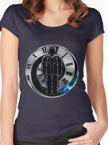 Doctor Who - 9th Doctor - Christopher Eccleston Women's Fitted Scoop T-Shirt