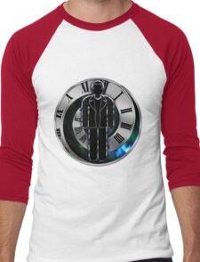 Doctor Who - 9th Doctor - Christopher Eccleston Men's Baseball ¾ T-Shirt
