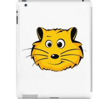 Comic Hamster Head/Face iPad Case/Skin
