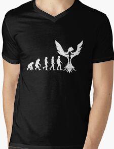 Evolution of X-Man - Phoenix Mens V-Neck T-Shirt