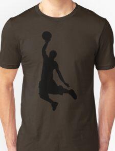 Basketball Player, Slam Dunk Silhouette T-Shirt