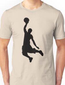Basketball Player, Slam Dunk Silhouette Unisex T-Shirt