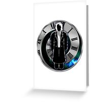 Doctor Who - 8th Doctor - Paul McGann Greeting Card