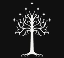White Tree of Gondor-  the lord of the rings Kids Tee
