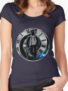 Doctor Who - 7th Doctor - Sylvester McCoy Women's Fitted Scoop T-Shirt