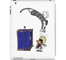 Calvin And Hobbes. iPad Case/Skin