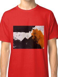Minimal Orange on Black Classic T-Shirt