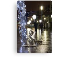 #PleaseLookAfterMe Ice Sculptures - Liverpool Canvas Print