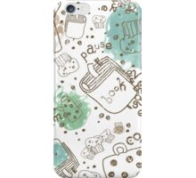 Cofee Break Pattern iPhone Case/Skin