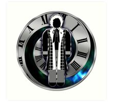 Doctor Who - 6th Doctor - Colin Baker Art Print