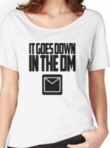 YO GOTTI - DOWN IN THE DM Women's Relaxed Fit T-Shirt