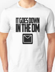 YO GOTTI - DOWN IN THE DM Unisex T-Shirt