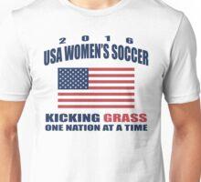 Kicking Grass Unisex T-Shirt