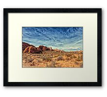 Raw Beauty Of Arches Framed Print
