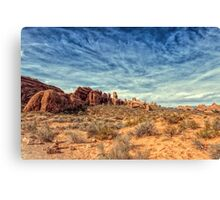 Raw Beauty Of Arches Canvas Print