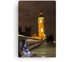 #PleaseLookAfterMe Ice Sculptures - London Canvas Print