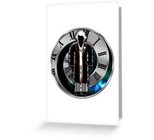 Doctor Who - 5th Doctor - Peter Davison Greeting Card