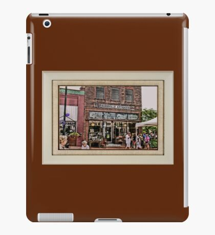 """""""Burrville Antiques"""" ... with a matted and framed presentation, for prints and products iPad Case/Skin"""