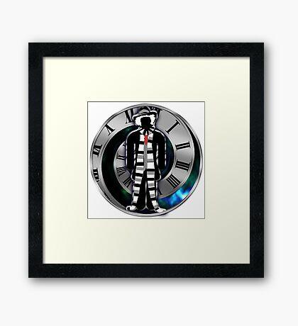 Doctor Who - 4th Doctor - Tom Baker Framed Print