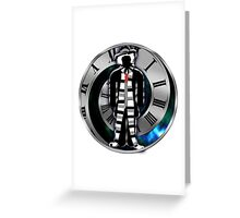 Doctor Who - 4th Doctor - Tom Baker Greeting Card